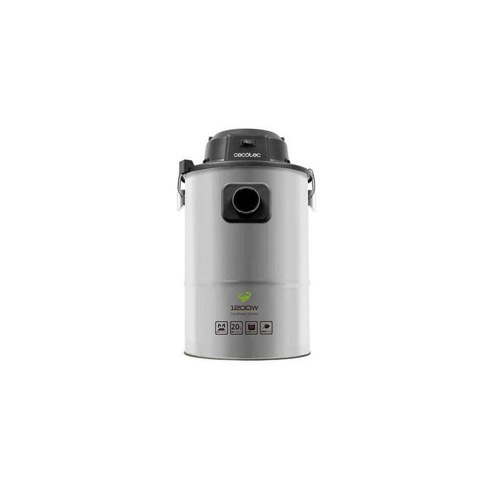 Totalcadeau Aspirateur de Cendres avec poignée intégrée 20 L 1200W Acier inoxydable - Pour Cendre Charbon Sciure