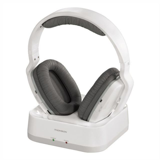 Thomson - Casque TV sans fil WHP3311W - Blanc - Casque audio