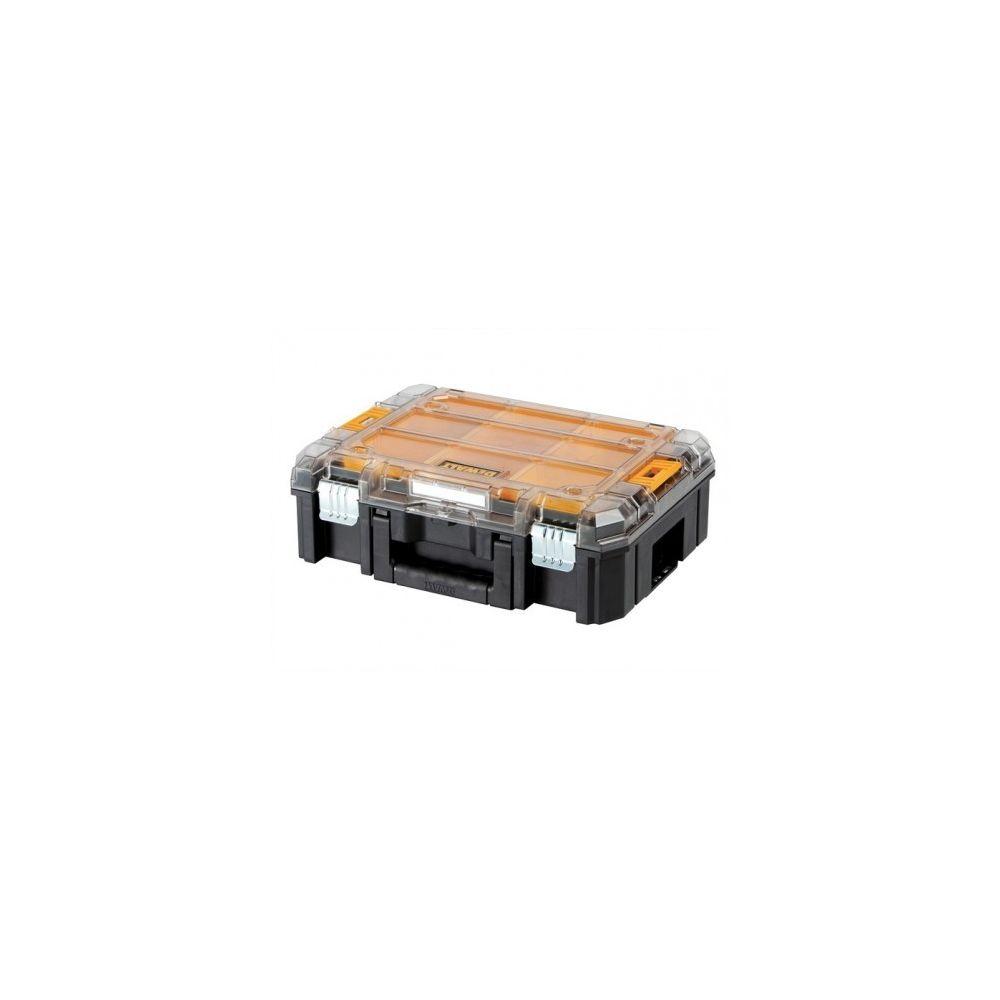 Dewalt Coffret de Transport - Organiseur DEWALT T-Stak box V Transparent (DWST1-71194)