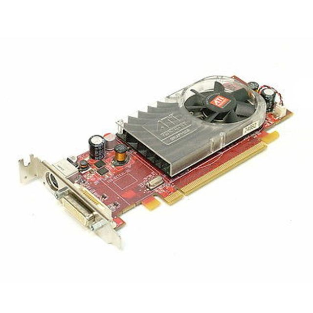 Amd - Carte Graphique Video AMD Radeon HD3450 256Mo DDR2 PCIe DMS59 SVideo Low Profile - Carte Graphique AMD