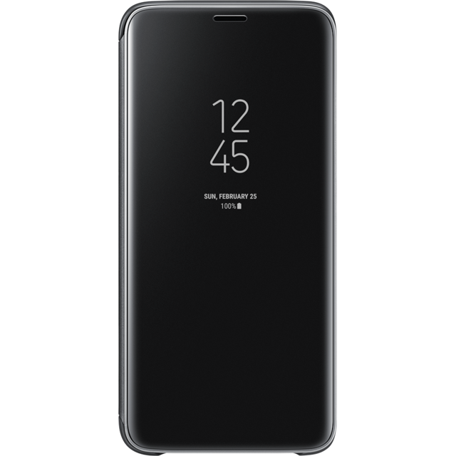 Samsung -Clear View Standing Cover Galaxy S9 - Noir Samsung  - Coque, étui smartphone