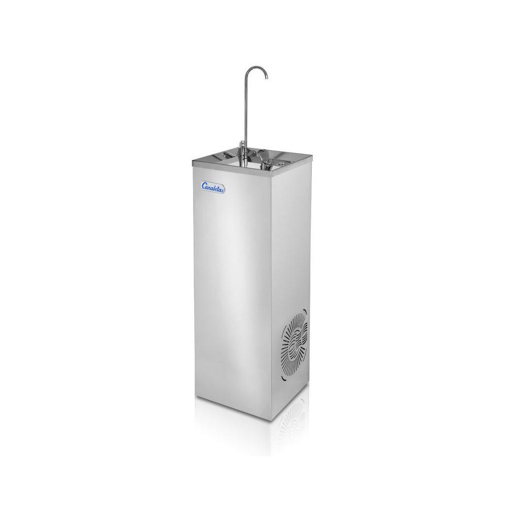 Materiel Chr Pro Fontaine à Eau Col de Cygne - Avec ou Sans Pédale - Canaletas - Jet eau fraîche par poussoir et col de cygne