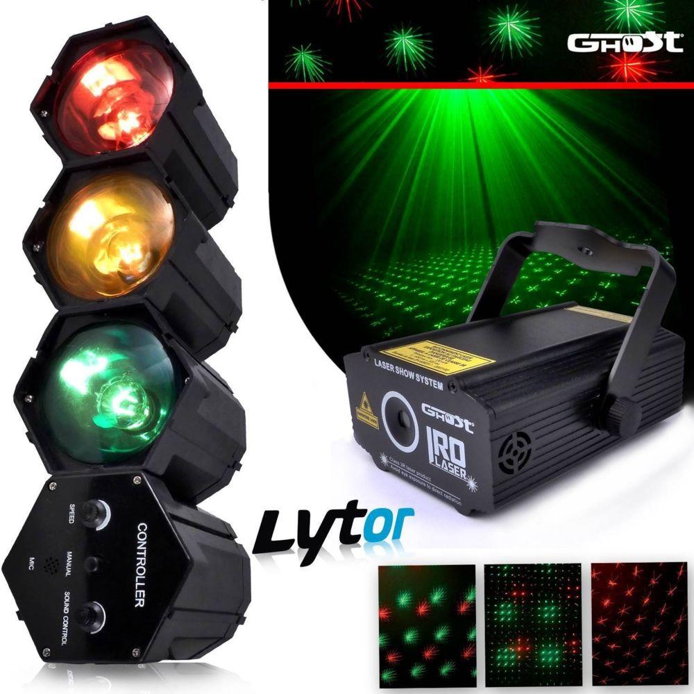 Ghost Pack IROLASER + Chenillard module 3 couleurs LYTOR