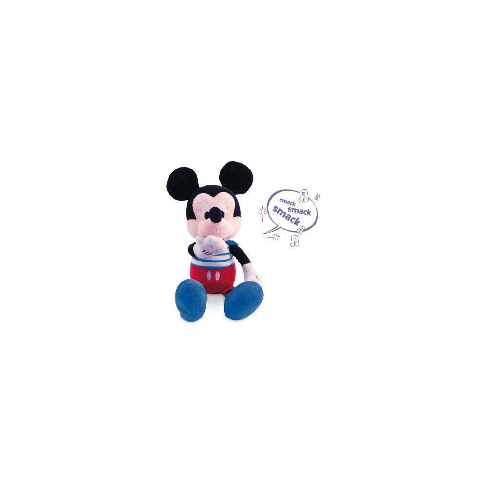 Mickey Mouse Mickey Kiss Kiss, Peluche Interactive Sonore