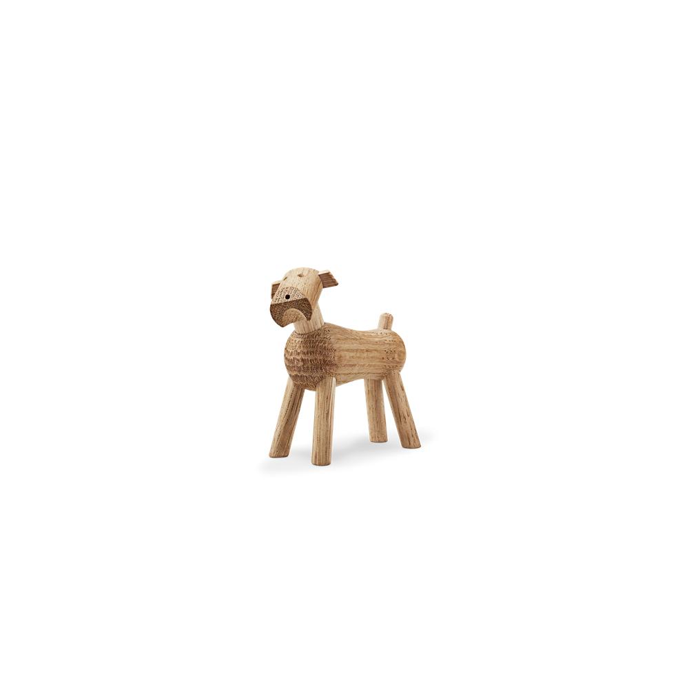 Kay Bojesen Figurine en bois en forme de Chien Tim - Chêne