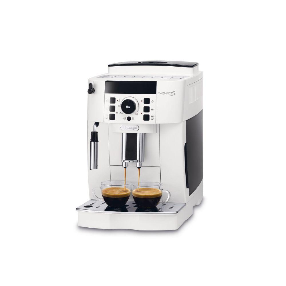 Delonghi machine à expresso avec broyeur pour Café en grains et moulu 1450W blanc