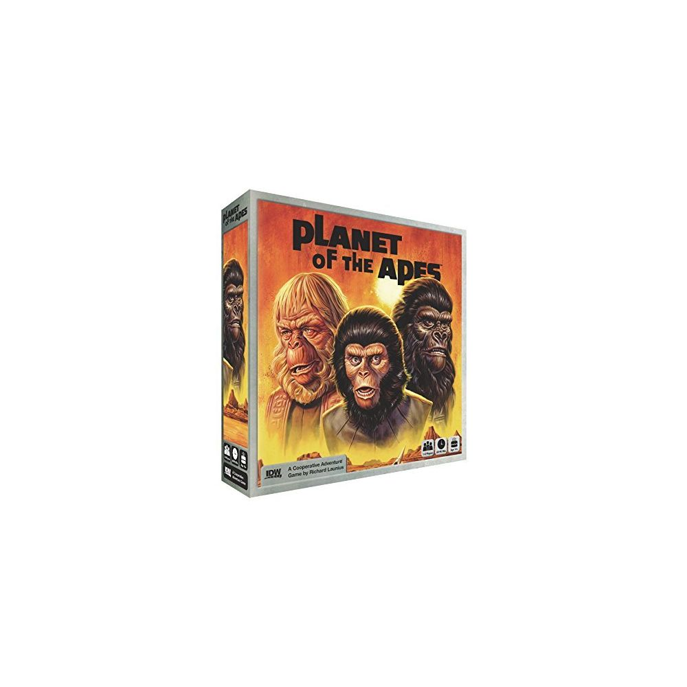 Idw Games IDW Games Planet the Apes Adventure Board Game