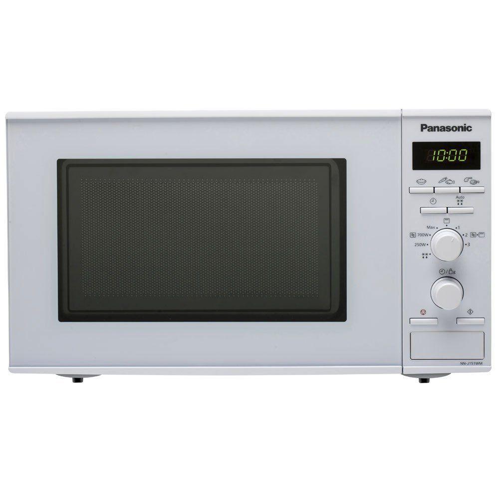 Panasonic panasonic - micro-ondes + gril 20l 800w blanc - nn-j151wmepg