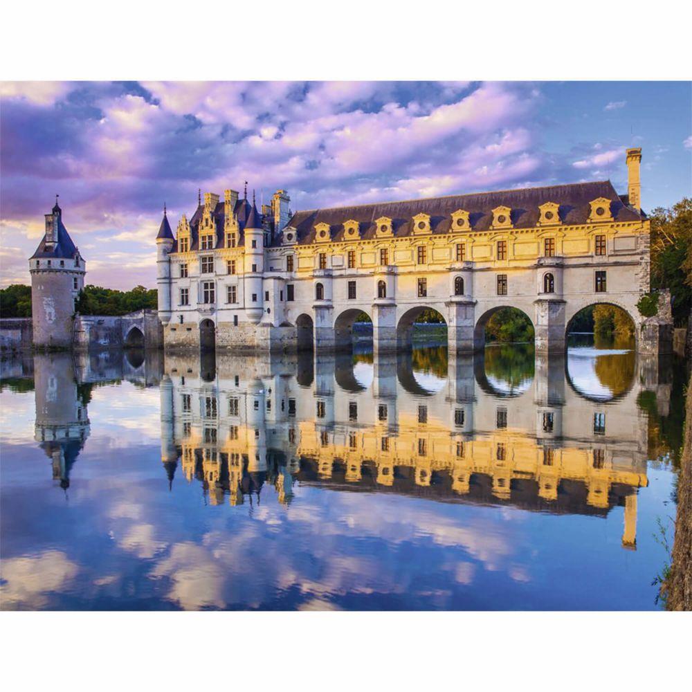 Nathan Puzzle 2000 pièces : Château de Chenonceau