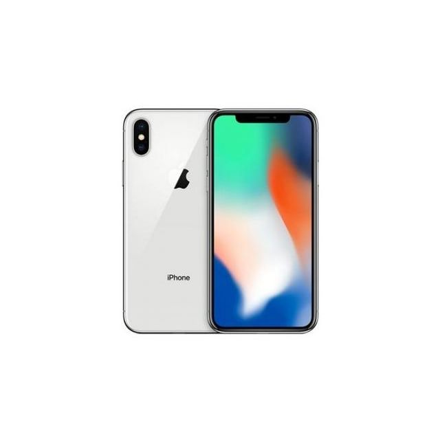 Apple - iPhone X 256 Go Argent - iPhone 256 go
