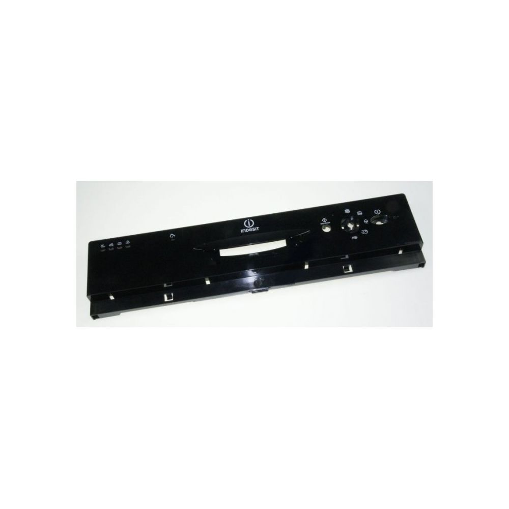 Hotpoint Tableau de bord noir pour lave-vaisselle indesit