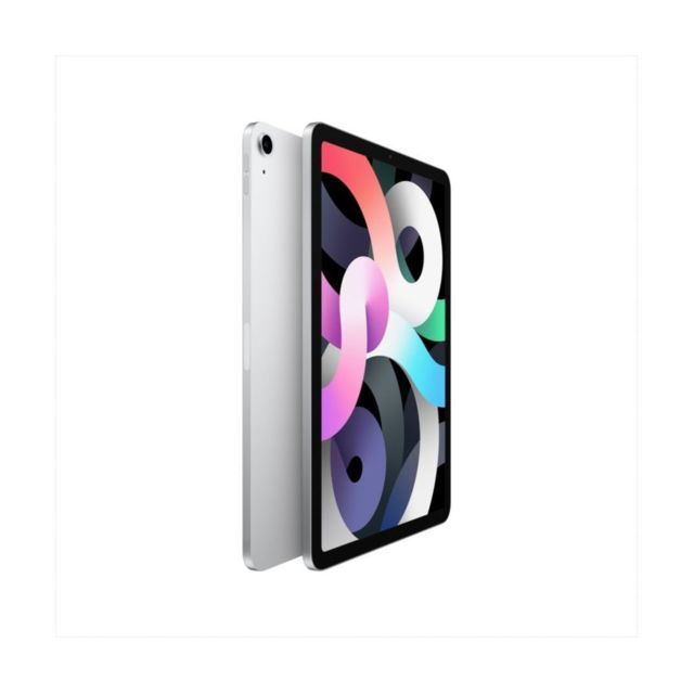 "Apple - iPad Air (Gen 4) - 10,9"""" - Wi-Fi + Cellular - 256 Go - Argent - Tablette tactile"
