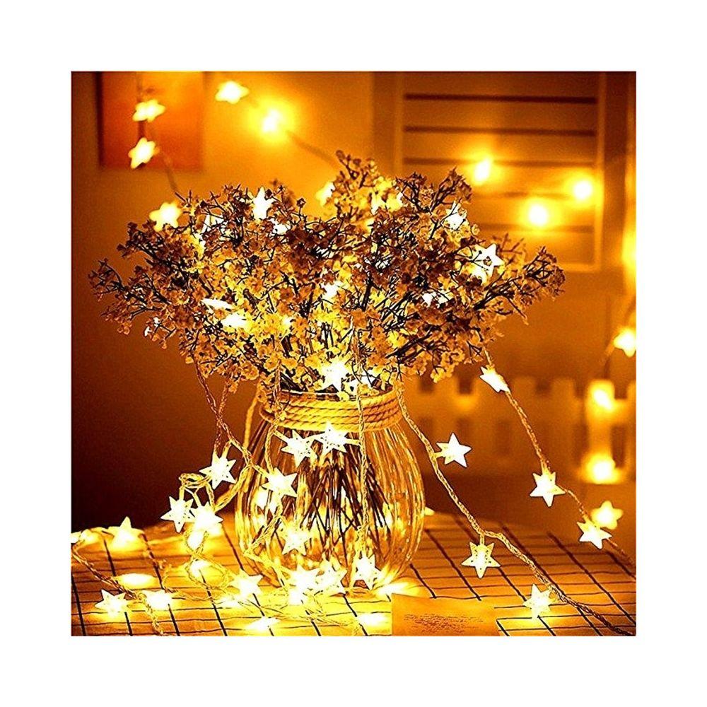 Wewoo Guirlande LED de fées lumineuse avec féerique pour noël, mariage, décoration la maison 3M 20LEDs (blanc chaud)