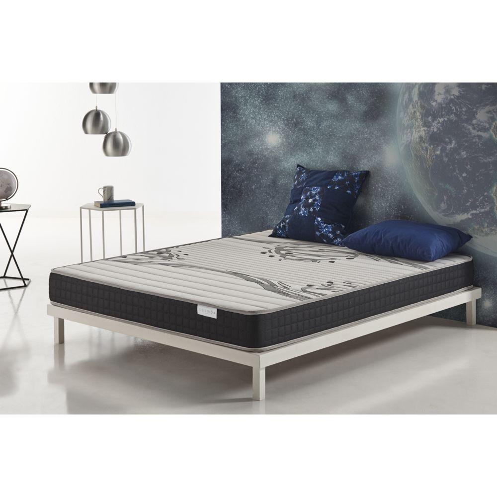 Cosmos Matelas GENESIS 140x190 cm mousse HR ACTIVE LATEX® - BLUE LATEX® - 17 CM