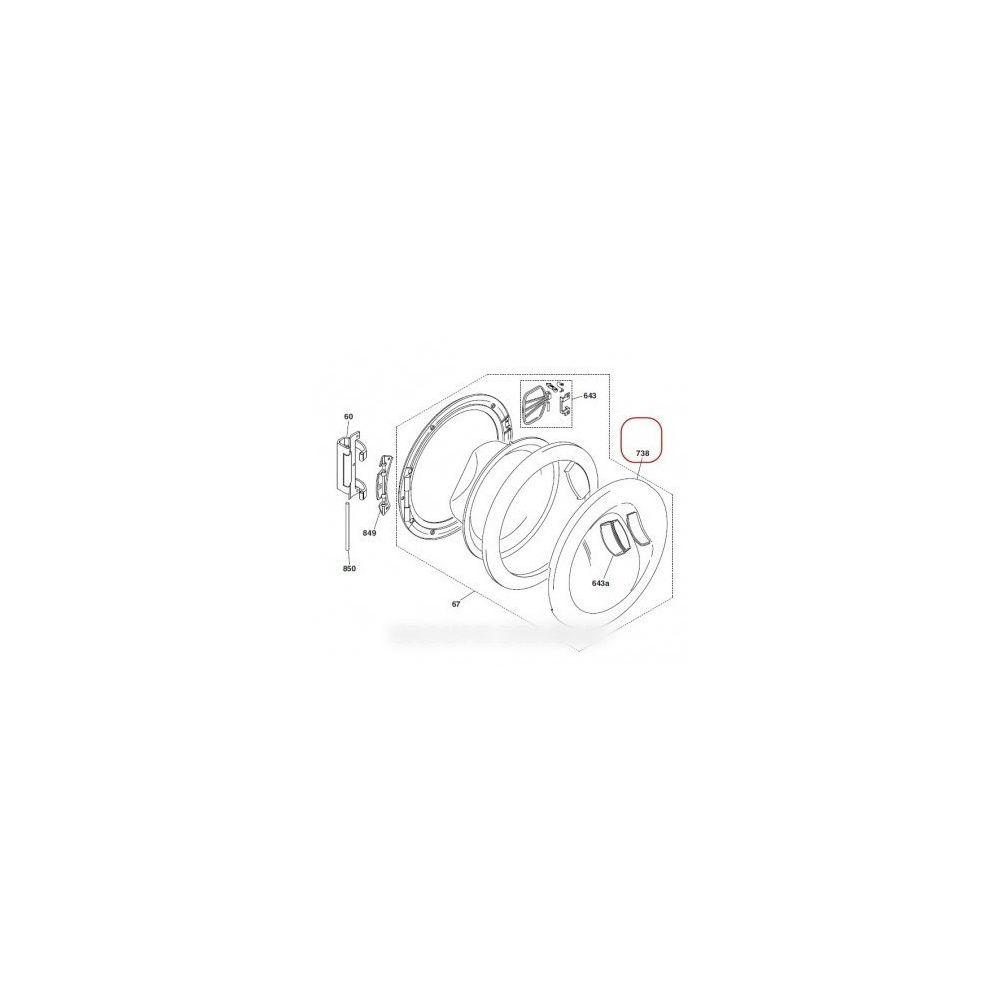 Hoover Protection hublot exterieur pour lave linge hoover