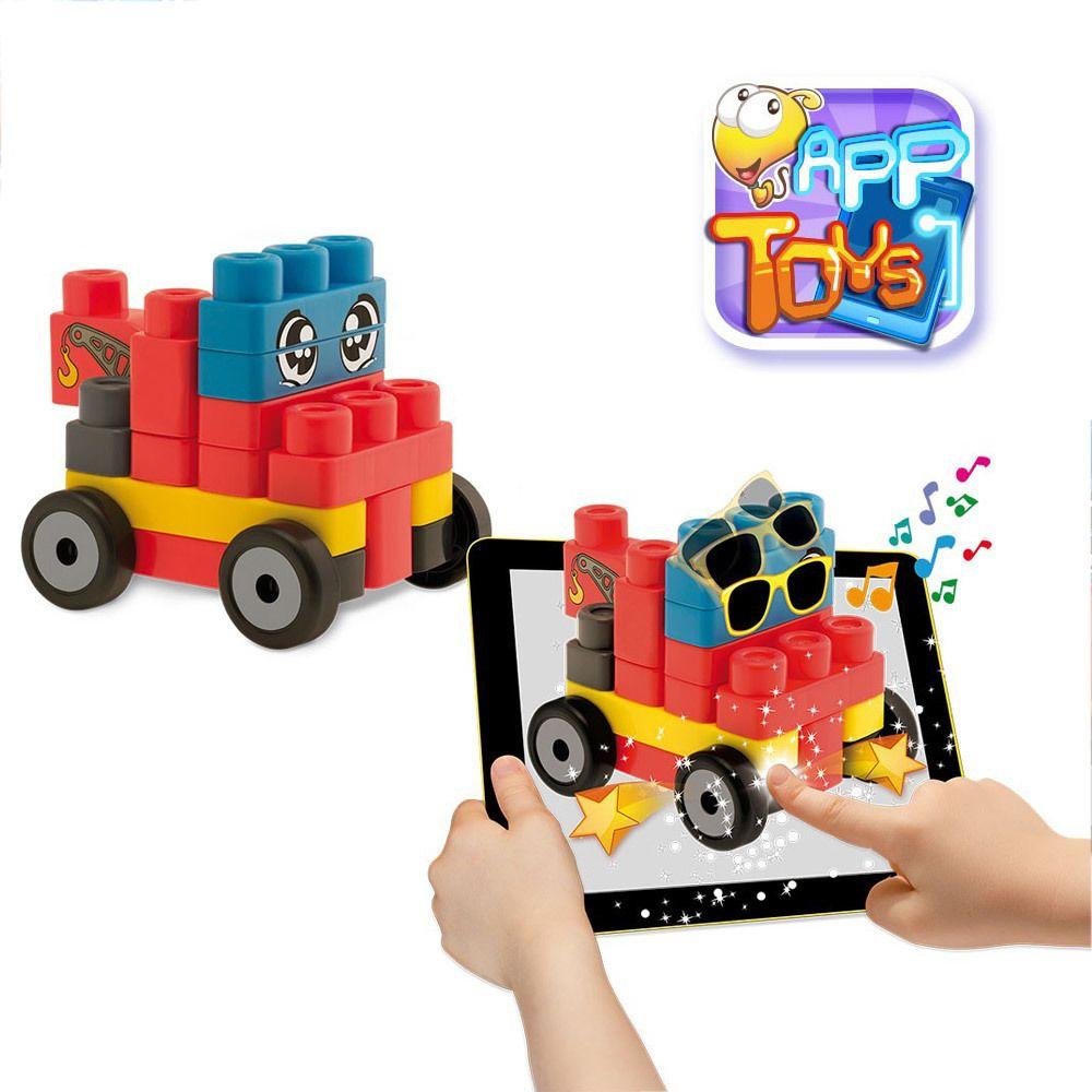 Chicco Blocs de construction App Toys : 20 pièces : Véhicules