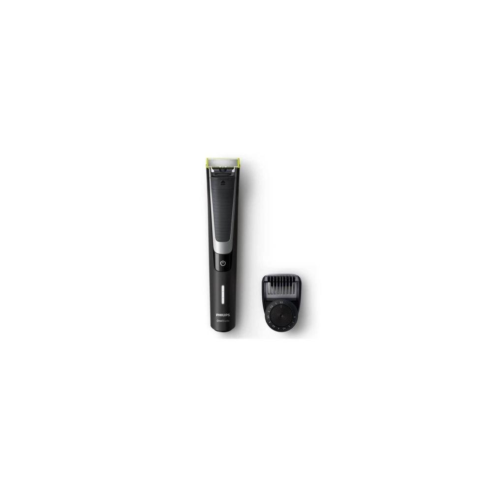 Philips PHILIPS Tondeuse a barbe sans fil One Blade Pro - QP6510/30 - 60 mn d'autonomie -Noir