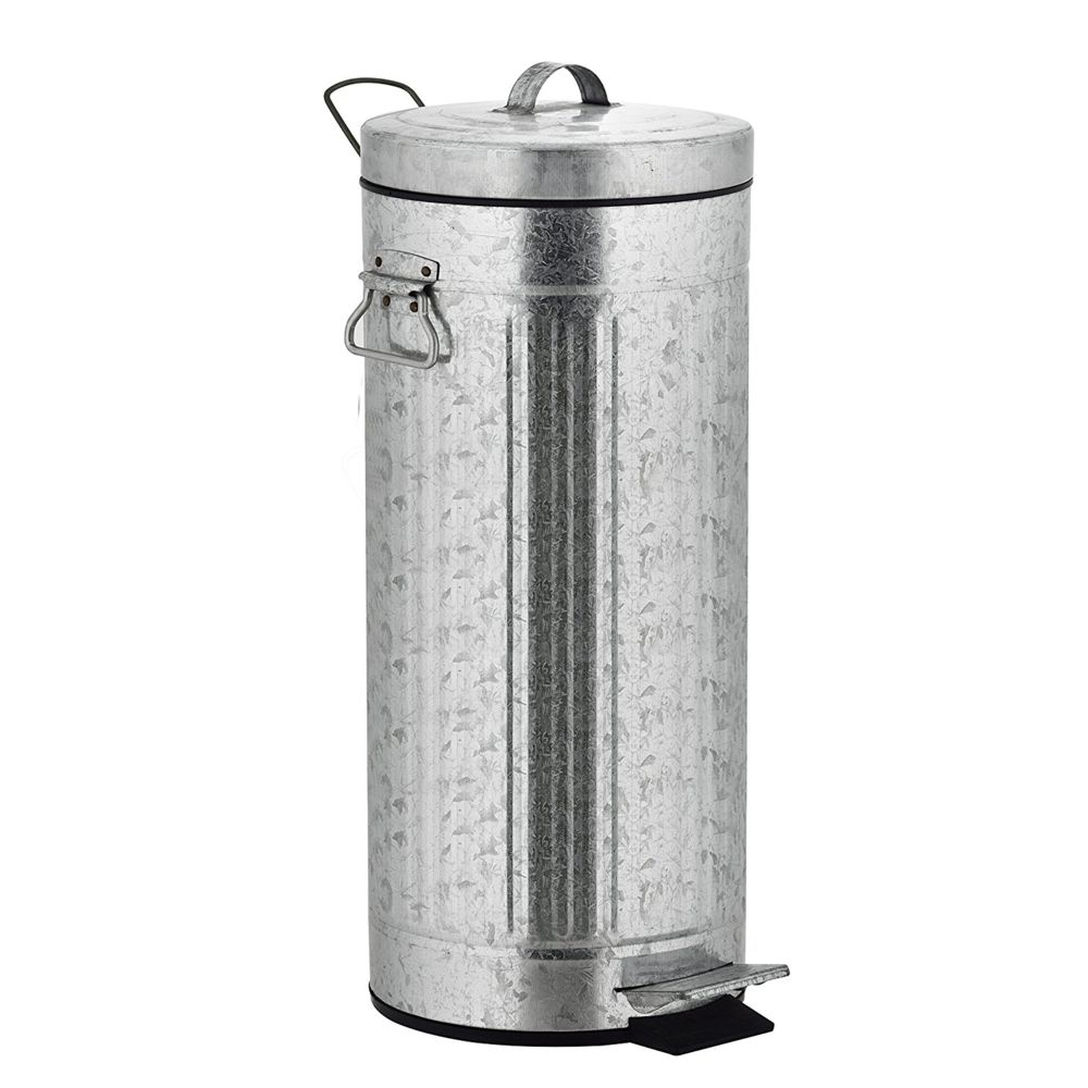 Kitchen Move kitchen move - poubelle à pédale 30l acier galvanisé - 927984e inox as