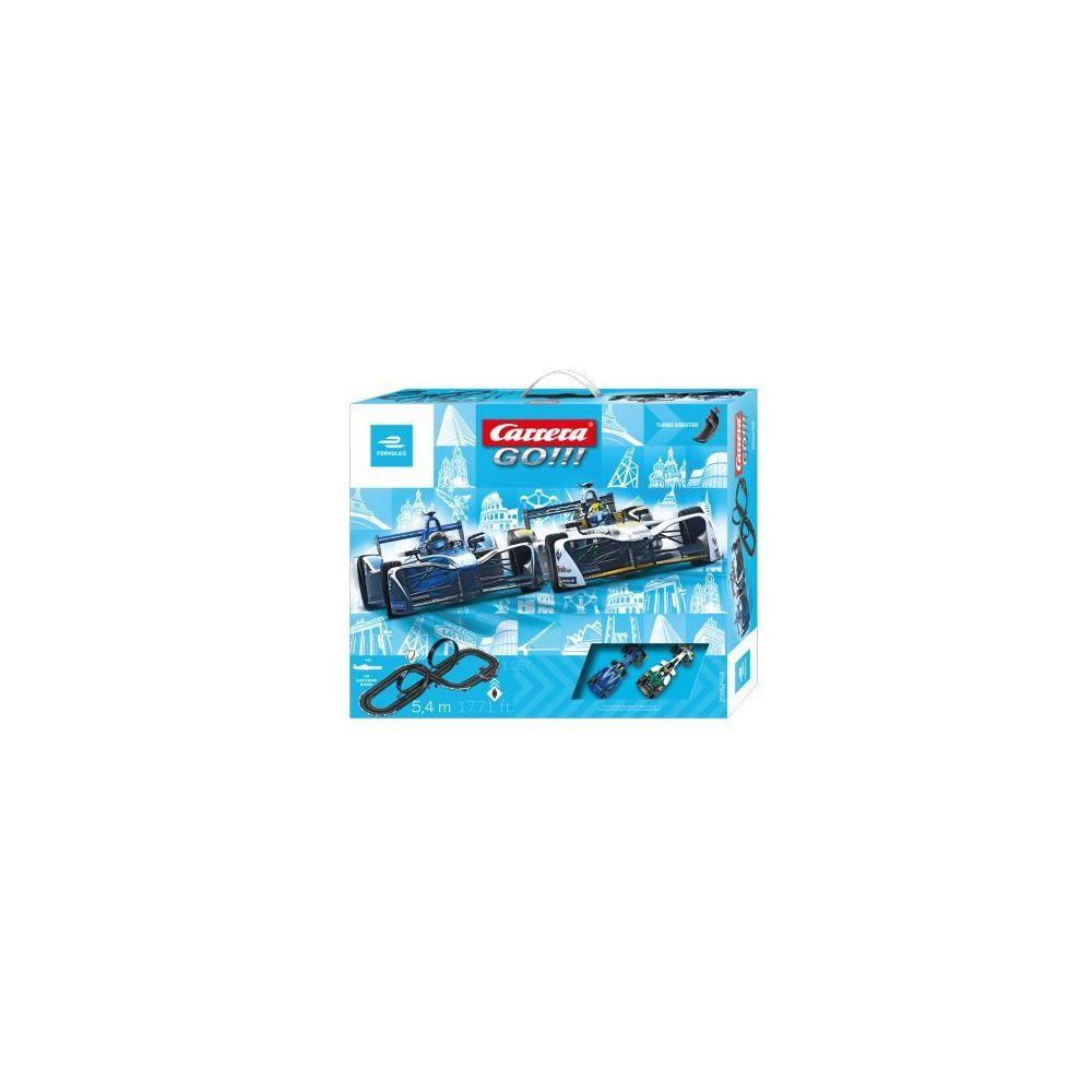 carrera Circuit voitures Formula E 1/43 - Dès 6 ans - Carrera GO!!! 62468