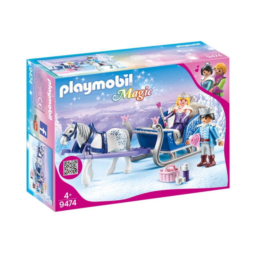 Playmobil PLAYMOBIL 9474 Magic - Couple royal et calèche
