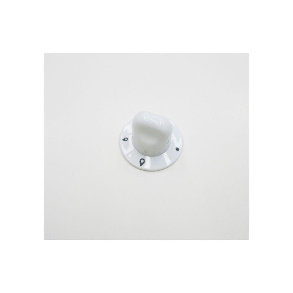 Hotpoint Bouton plaque gaz blanc pour table de cuisson ariston