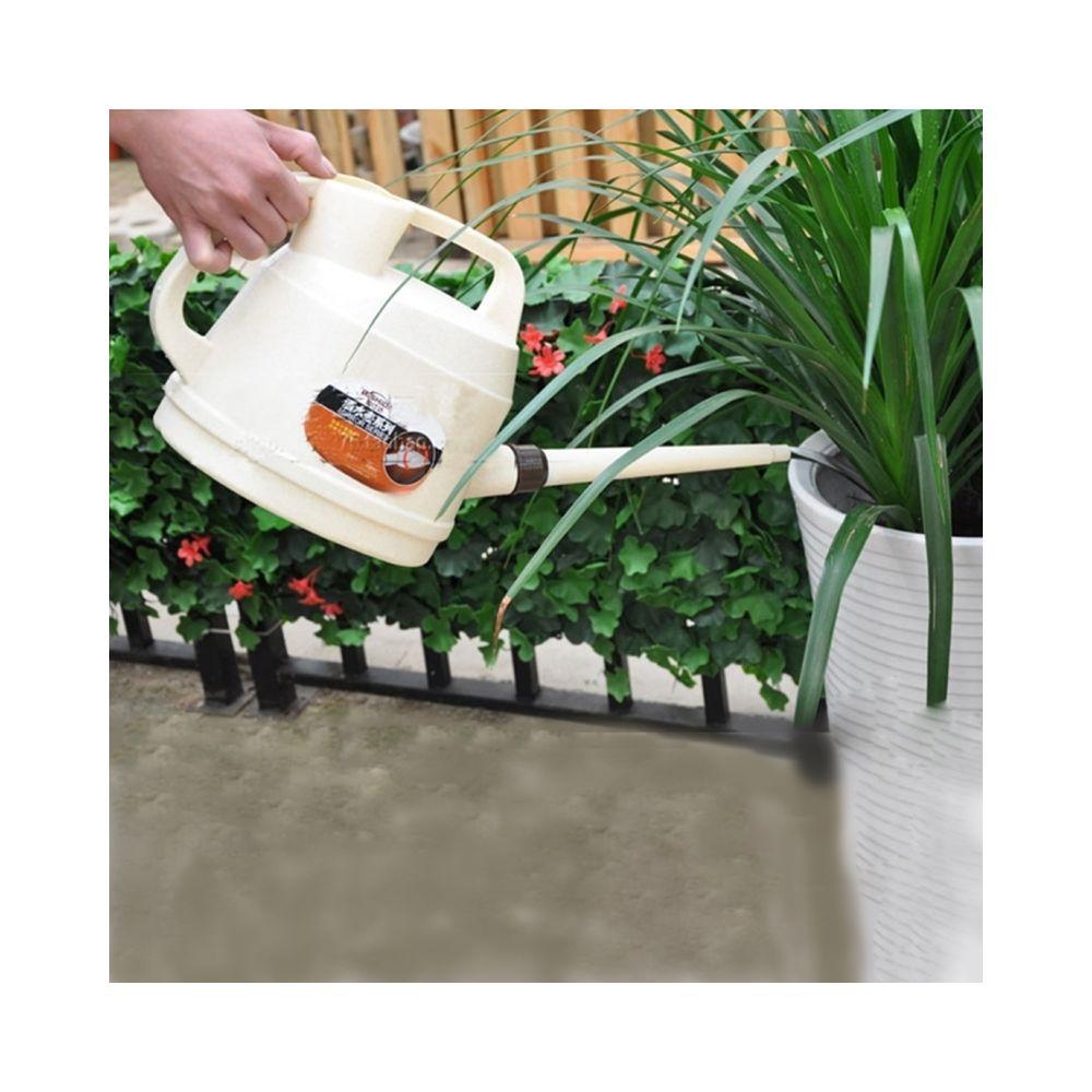 Wewoo Arrosage Pot PP Paysage Jardinage Fournitures Peut Longue Bouche Outils D'irrigation, Capacité: 7L, Aléatoire Couleurs