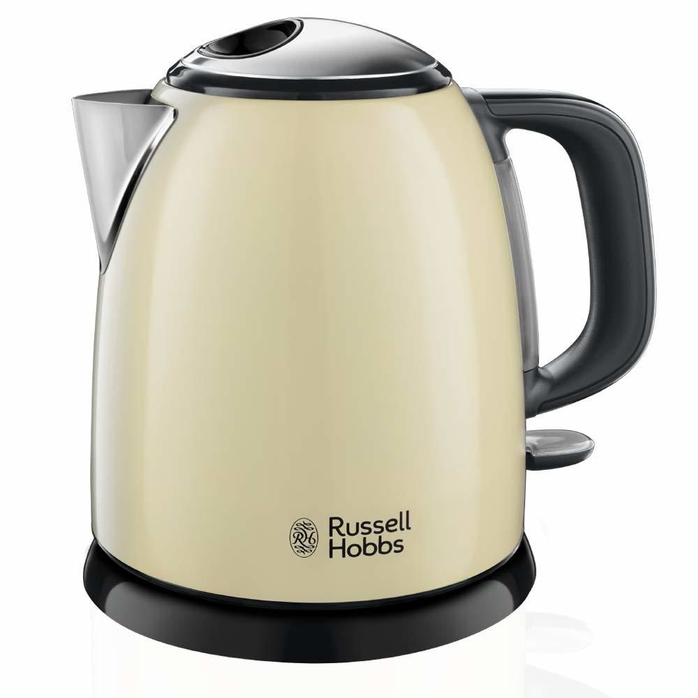 Russell Hobbs russell hobbs - bouilloire sans fil 1l 2400w crème - 24994-70