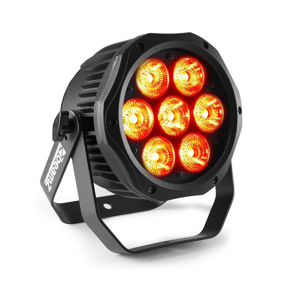 Beamz Beamz Professional BWA410 Projecteur PAR LED 7x 10W RVBB 4/8 canaux DMX
