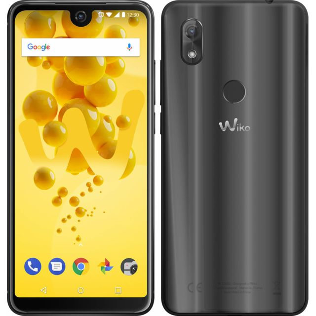 Wiko - View 2 - Anthracite Wiko   - Smartphone Android Qualcomm snapdragon 435