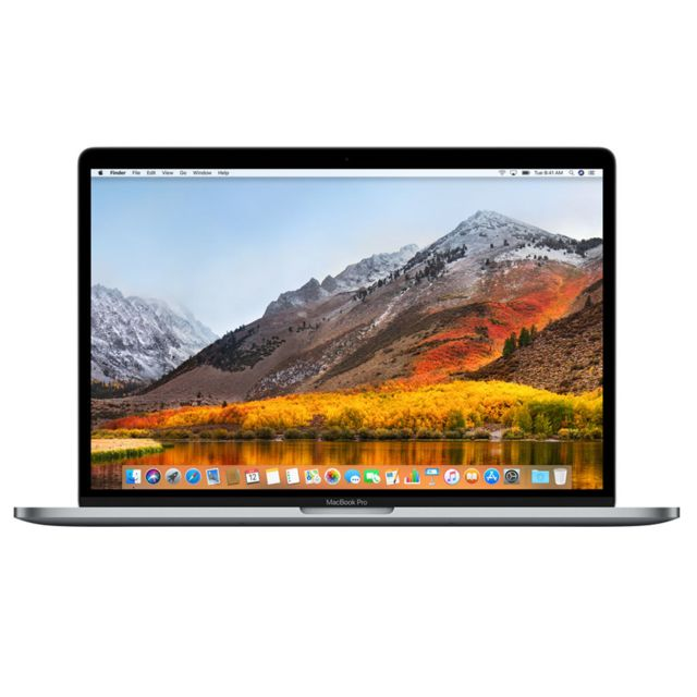 Apple - MacBook Pro 15 Touch Bar - 512 Go - MLH42FN/A - Gris sidéral - Macbook reconditionné