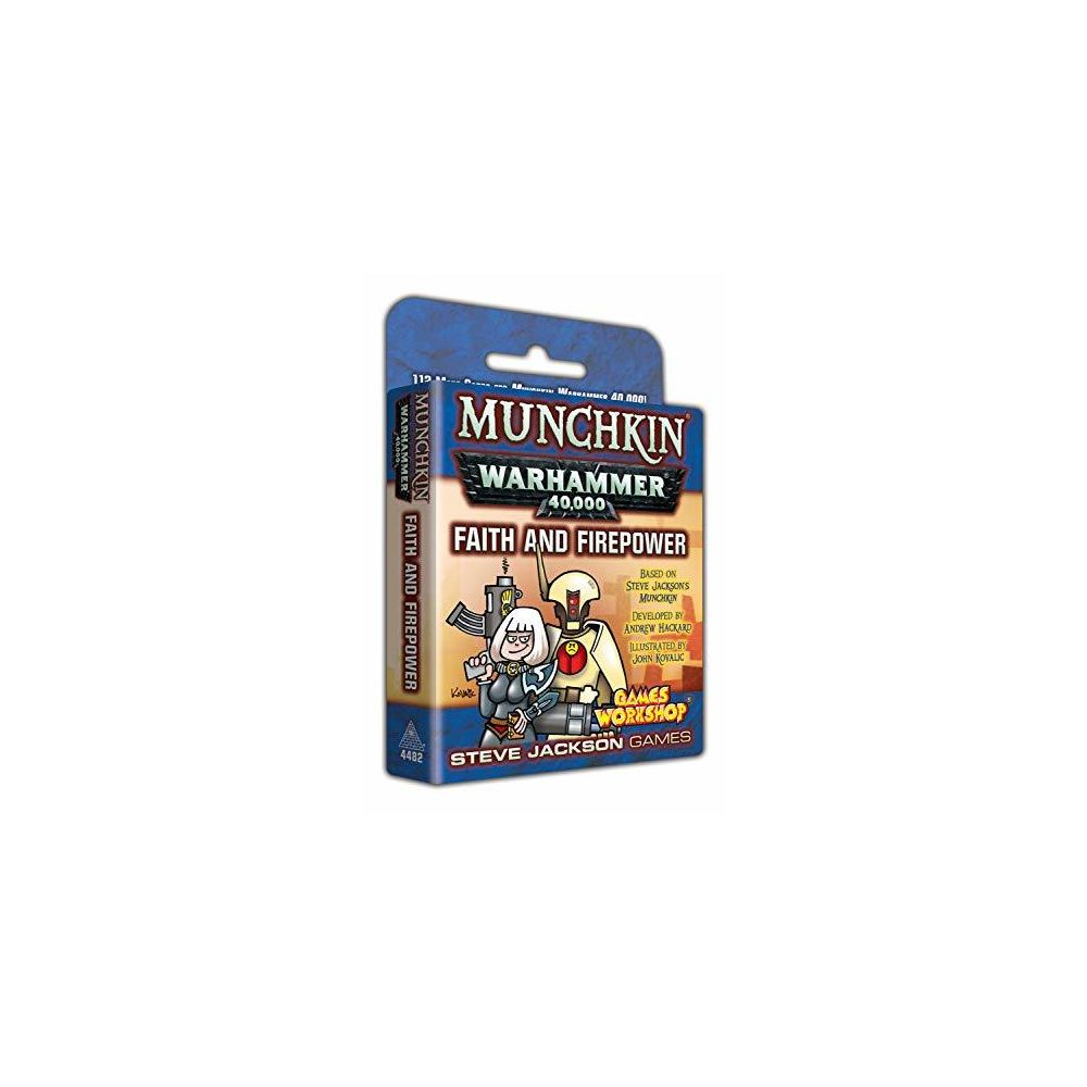 Steve Jackson Games Munchkin Warhammer 40000 Faith and Firepower
