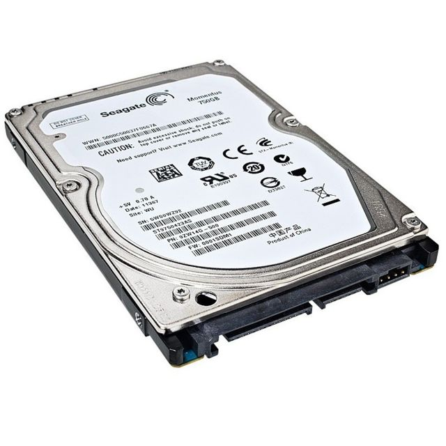 "Seagate - Disque Dur 750Go SATA 2.5"""" Seagate ST9750423AS 5400RPM 16Mo Momentus Pc Portable - Disque Dur interne 2.5"""