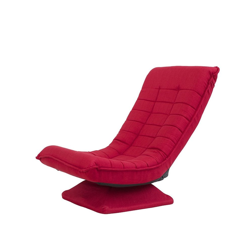 Wewoo X3 Casual Canapé Lazy Sofa Pliable Rotative Creative Rouge