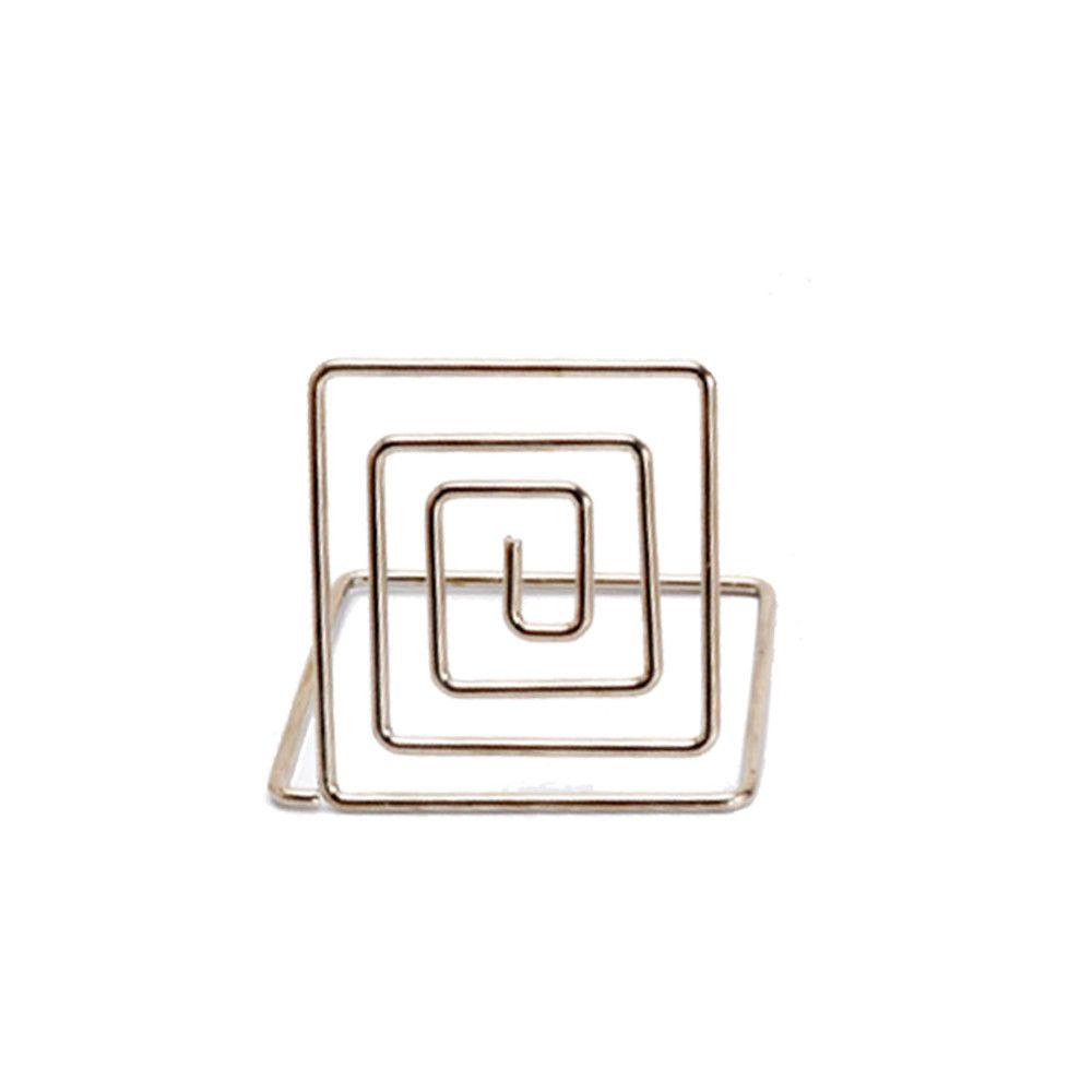 Generic Placez la carte Porte-cartes en métal Support à dîner de mariage, de l'Alimentation Connectez-vous 20pieces argent