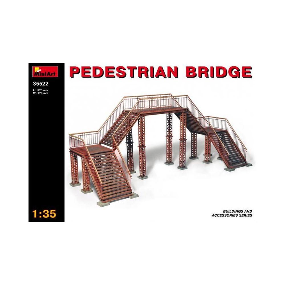 Mini Art Pedestrian Bridge - Décor Modélisme