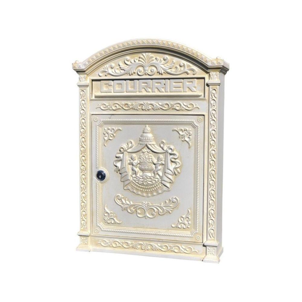 Boite aux lettre au à alu design antique fonte NEUF !