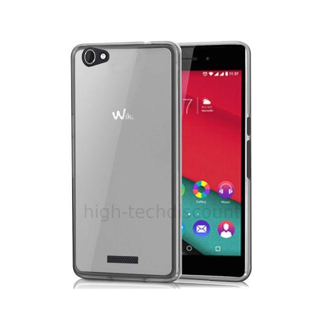 Housse etui coque pochette silicone gel fine pour Wiko Pulp 4G film ecran -(...)
