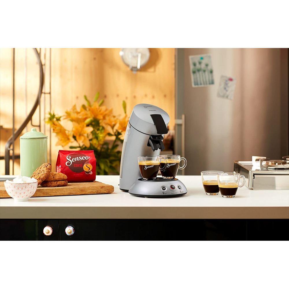 Philips Machine à Café à Dosettes Senseo de 0,7L 1450W gris