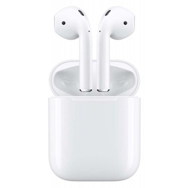 Apple - AirPods 2 avec boitier de charge Lightning - MV7N2ZM/A - Casque audio