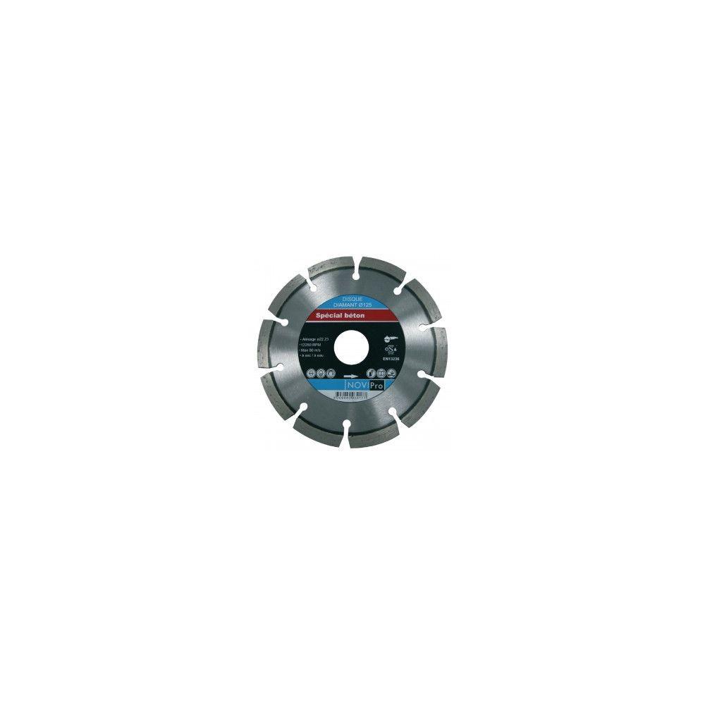 Novipro Disque diamant segments soudés laser Novipro D125x22,2