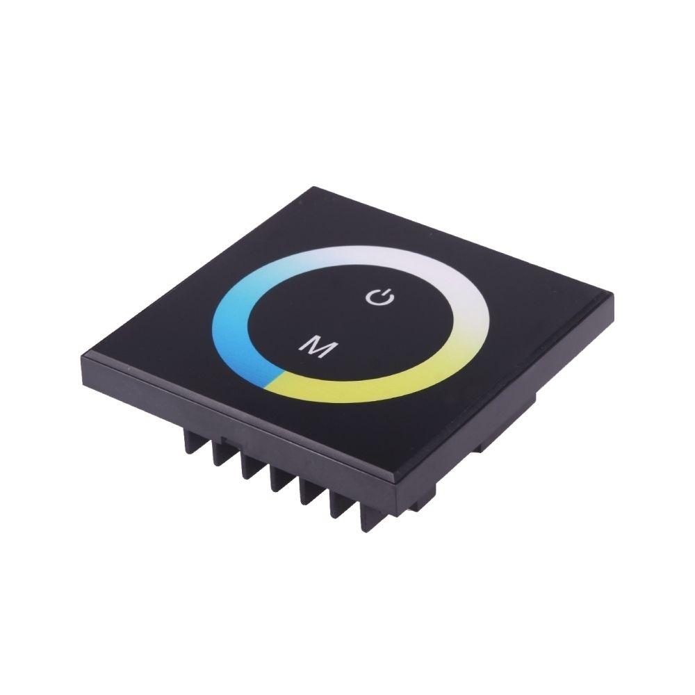 Wewoo Télécommande à écran tactile à noir double canal TM07, DC 12-24V