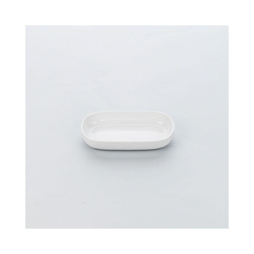 Materiel Chr Pro Plat Ovale Porcelaine Apulia 190 x 100 mm - Lot de 6 - Stalgast - Porcelaine 32 cl