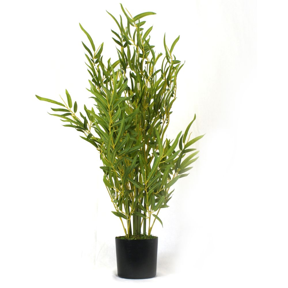 Pegane Plante artificielle Bambou - Hauteur 76 cm -PEGANE-