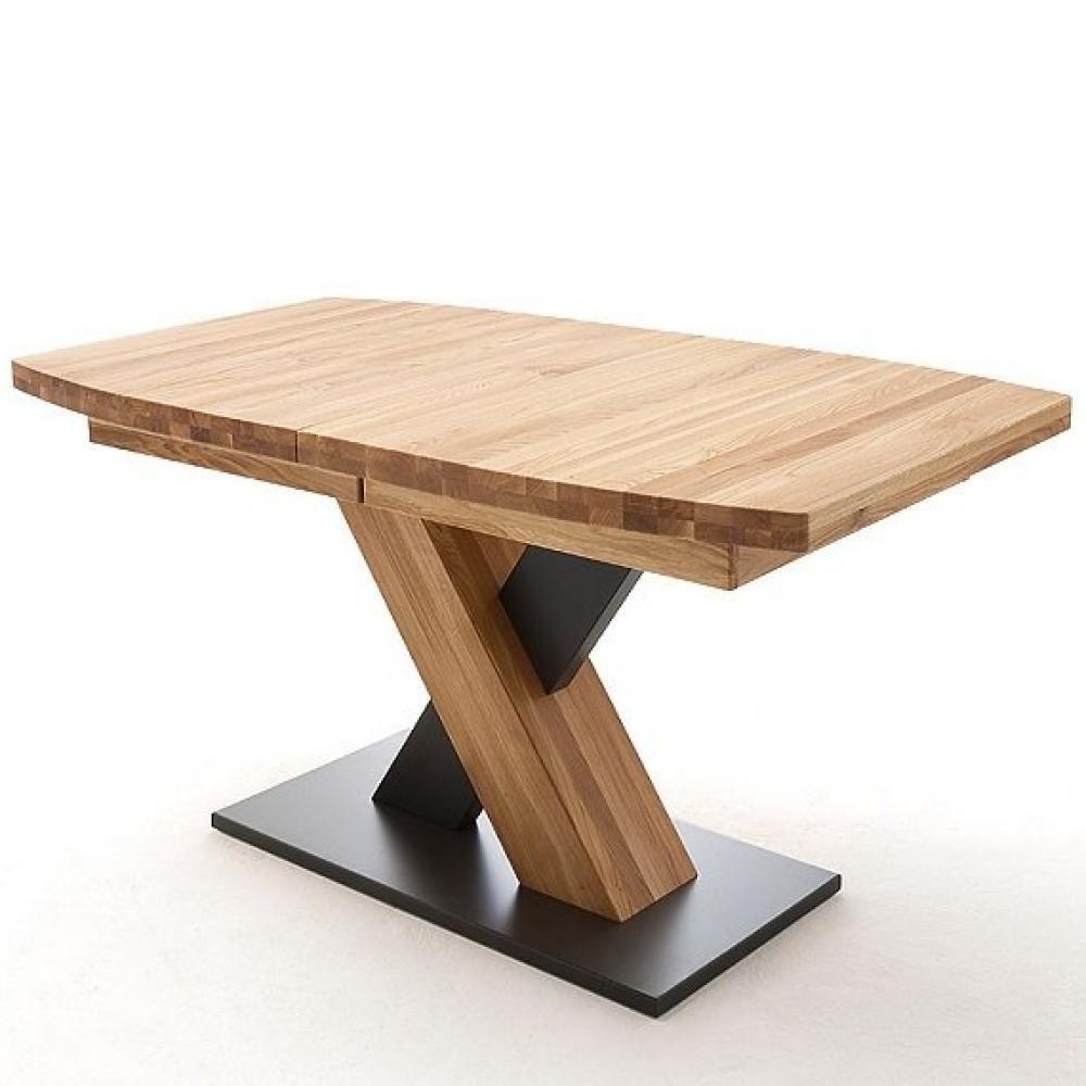 Inside 75 Table extensible MELERO 140 x 90 cm chêne sauvage huilé massif