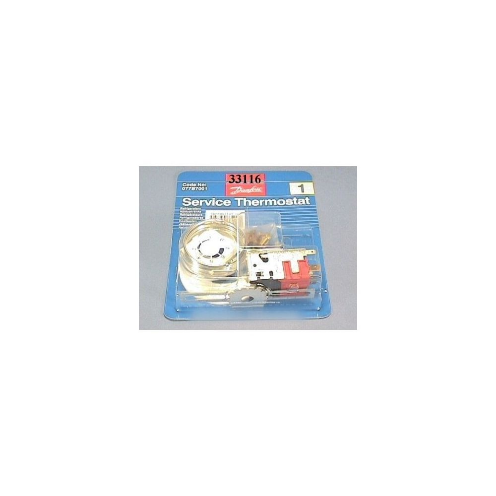 Divers Marques Thermostat danfoss n°1 ref 1 temp pour réfrigérateur constructeurs divers
