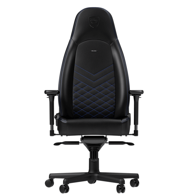 Noblechairs - ICON - Noir/Bleu - Chaise gamer