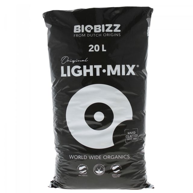 Biobizz - Terreau LIGHT.MIX en sac de 20 litres - BIOBIZZ - Jardinerie