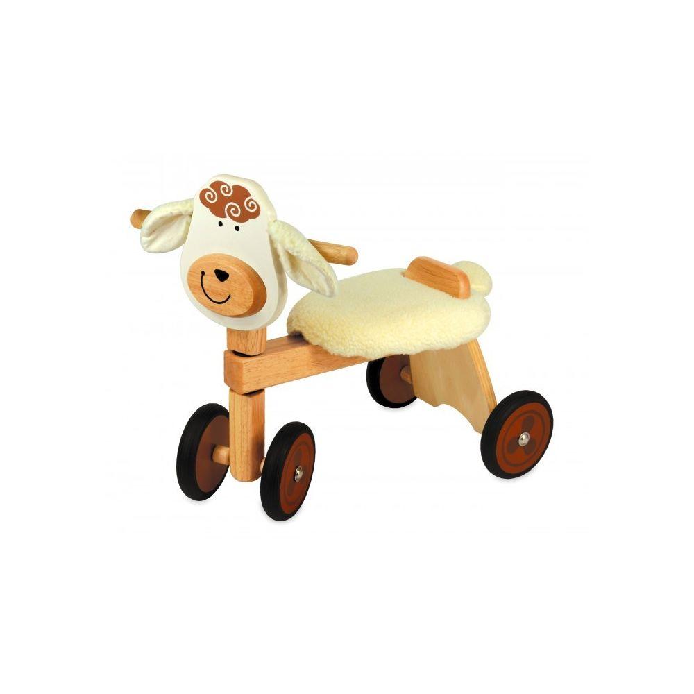 I M Toy Porteur Vélo 4 roues en bois Mouton IM87530