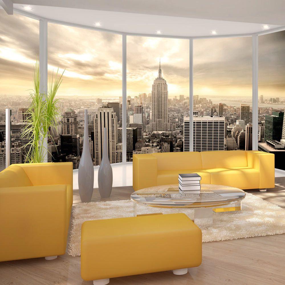 Bimago Papier peint - Sunny morning in New York City - Décoration, image, art | Ville et Architecture | New York |