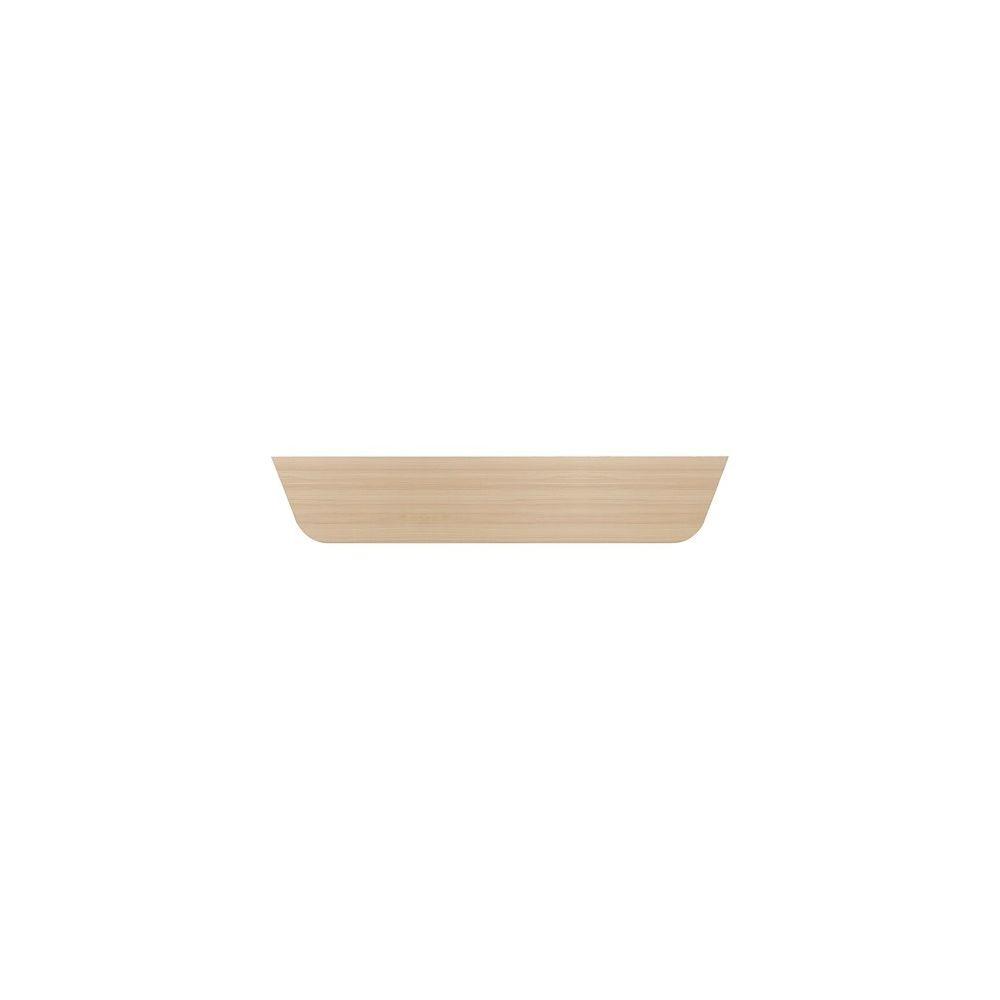 Gautier Voile de fond L 160 cm chêne Absolu
